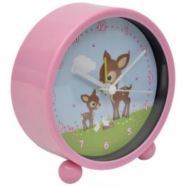 Bobble Art Woodland Animals Alarm Clock
