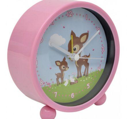 Bobble Art Woodland Animals Alarm Clock