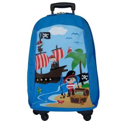 Bobble Art Pirate Cabin Luggage