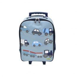 Bobble Art Cars Wheely Trolley Bag