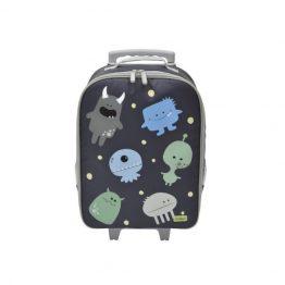 Bobble Art Monsters Wheely Trolley Bag