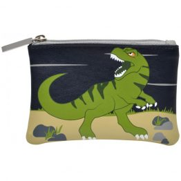 Bobble Art Dinosaur Zip Coin Wallet