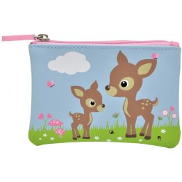 Bobble Art Woodland Animals Zip Coin Purse