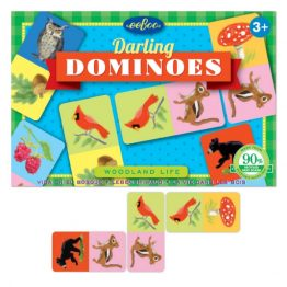 Eeboo Woodland Life Dominoes