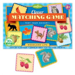 Eeboo Woodland Life Matching Card Game