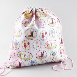 Floss & Rock Bunny Drawstring Kit Bag