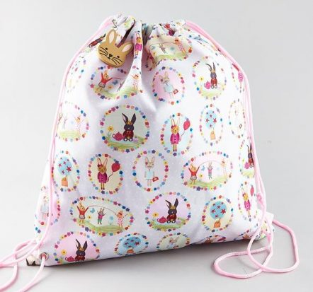 Floss & Rock Bunny Drawstring Kit Bag
