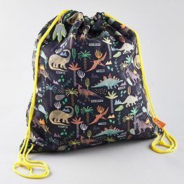 Floss & Rock Dinosaur Drawstring Kit Bag