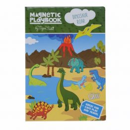Tiger Tribe Magnetic Play Book Dinosaur Roar