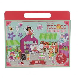 Tiger Tribe Piccolo Sticker Set Fairy Lane