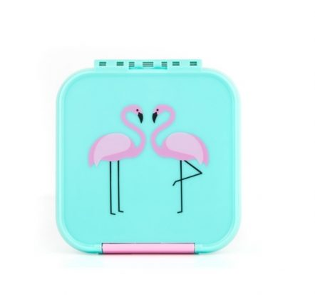 The Little Lunch Box Co Bento Two Flamingo