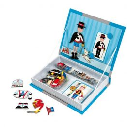 Janod Boys Outfits Magnetic Book