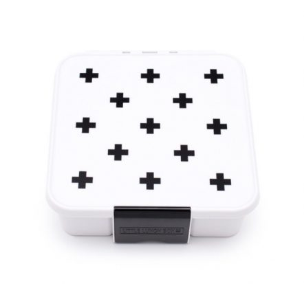 The Little Lunch Box Co Bento Five Black Cross