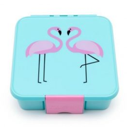 The Little Lunch Box Co Bento Three Flamingo