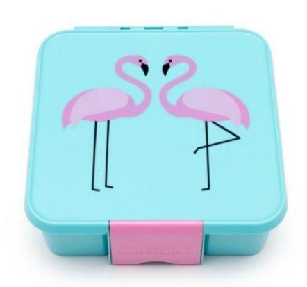 The Little Lunch Box Co Bento Three Flamingo