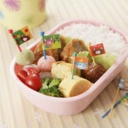 Bento Animal Flags Food Picks