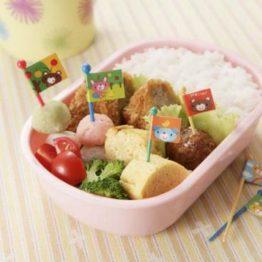 Bento Animal Flags Food Picks