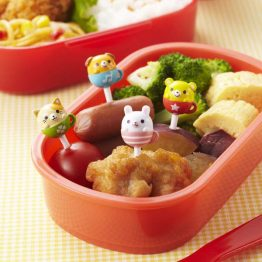 Bento Tea Cup Animals Food Picks