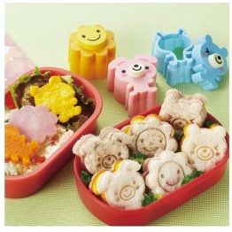 Bento Sunny Day Food Cutters & Stamps