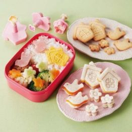 Bento Country Home Food Cutters & Stamps Plunger Set