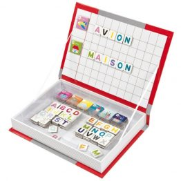 Janod Alphabet Magnetic Book