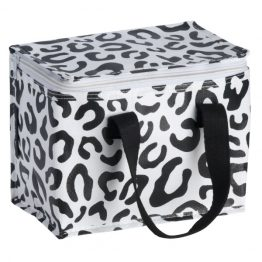 Kollab Leopard Lunch Tote Bag