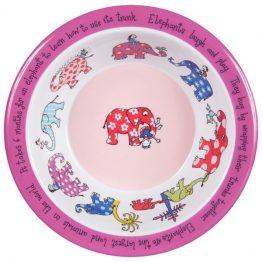 Tyrrell Katz Elephant Melamine Bowl