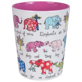 Tyrrell Katz Elephant Melamine Cup