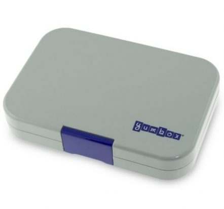 Bento Yumbox Tapas 5 Compartment Leakproof Lunch Box Flat Iron Grey