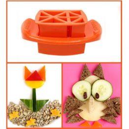 FunBites Orange Triangles Sandwich Cutter
