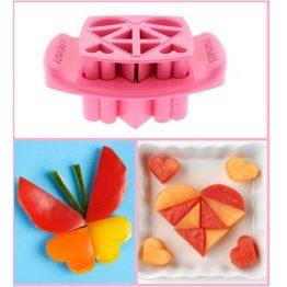 FunBites Pink Hearts Sandwich Cutter