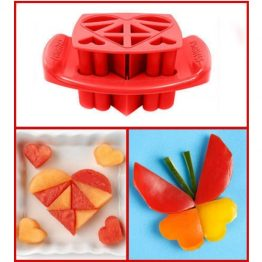 FunBites Red Hearts Sandwich Cutter