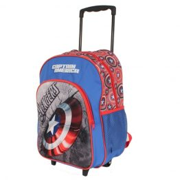 Captain America Marvel Trolley Backpack Suitcase