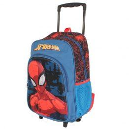 Spiderman Marvel Trolley Backpack Suitcase