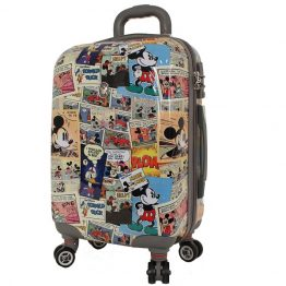 Disney Comics Hard Shell 19 Inch Suitcase