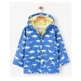 Hatley Boys Colour Changing Dinosaur Menagerie Classic Raincoat
