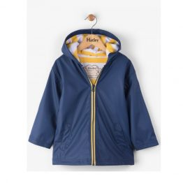 Hatley Navy & Yellow Splash Jacket Raincoat
