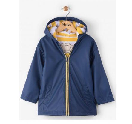 Hatley Navy & Yellow Splash Jacket Raincoat