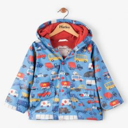 Hatley Boys Rush Hour Classic Raincoat