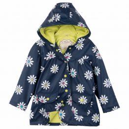 Hatley Girls Sunny Daisy Classic Raincoat