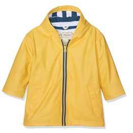 Hatley Yellow & Navy Splash Jacket Raincoat