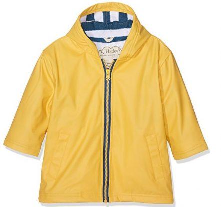 Hatley Yellow & Navy Splash Jacket Raincoat