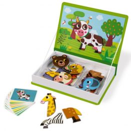 Janod Animals Magnetic Book