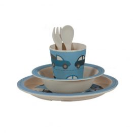 Bobble Art Cars Bamboo Tableware