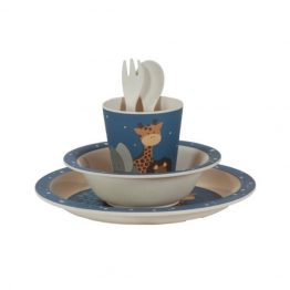 Bobble Art Safari Bamboo Tableware