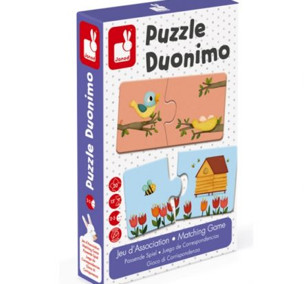 Janod Duonimo 20 Pce Puzzle