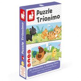 Janod Trionimo 30 Pce Puzzle