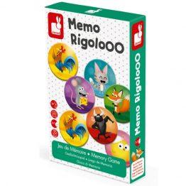Janod Rigolooo Animal Memory Game