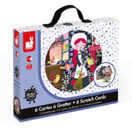 Janod Cinderella Scratching Cards