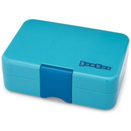 Bento Yumbox Mini Snack Box Blue Fish